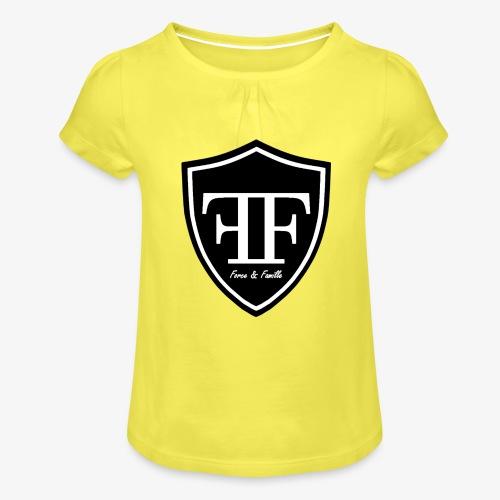 Force & Famille Principal - T-shirt à fronces au col Fille