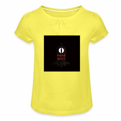 ParaSect Neo Virus for kids - Maglietta da ragazza con arricciatura