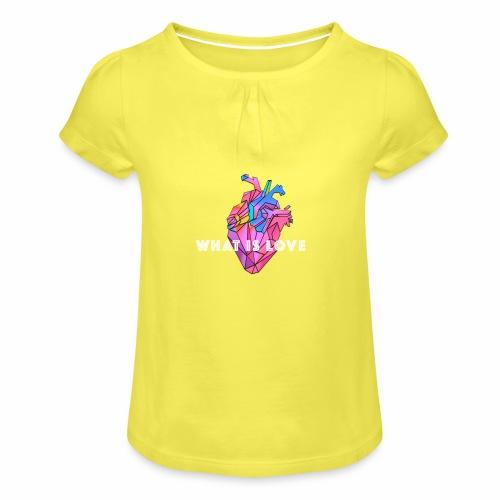 WHAT IS LOVE - Jente-T-skjorte med frynser