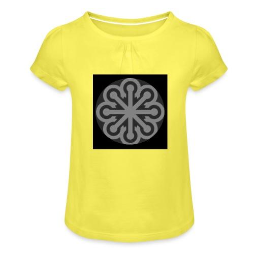 BGLogo - Girl's T-Shirt with Ruffles