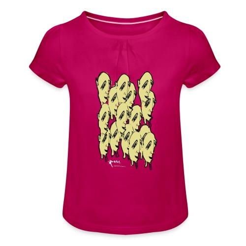 16 facre - T-shirt à fronces au col Fille