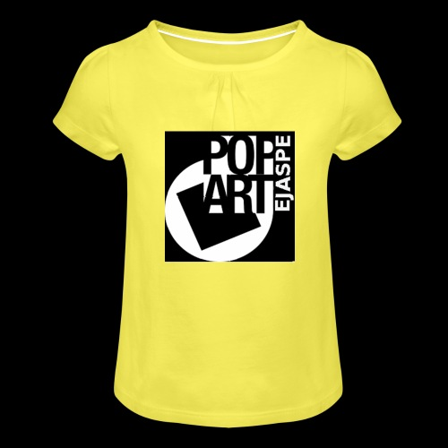 ejaspepopart - Camiseta para niña con drapeado