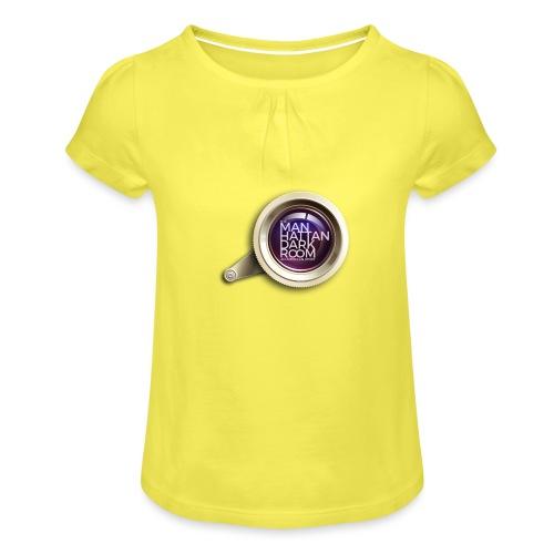 THE MANHATTAN DARKROOM OBJECTIF 2 - T-shirt à fronces au col Fille