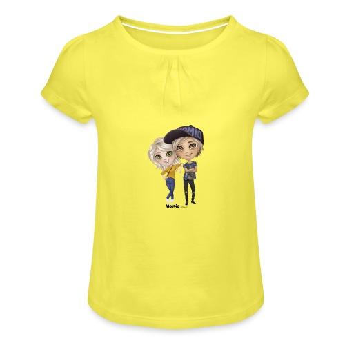 Emily & Lucas - Meisjes-T-shirt met plooien