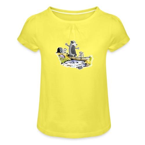 Summer Vibes! - Jente-T-skjorte med frynser