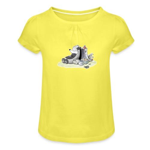 Siesta Time - Jente-T-skjorte med frynser