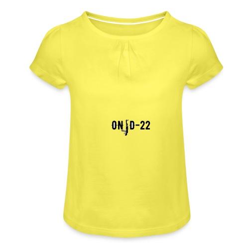 ONID-22 PICCOLO - Maglietta da ragazza con arricciatura
