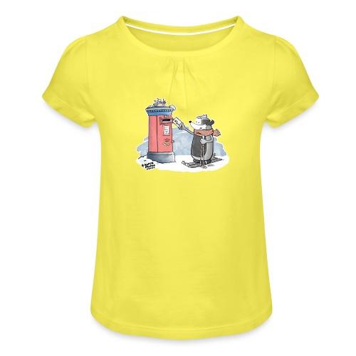 Royal Mail - Jente-T-skjorte med frynser