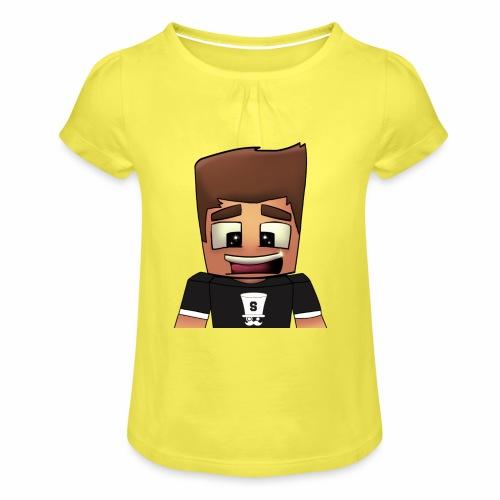 DayzzPlayzz Shop - Meisjes-T-shirt met plooien