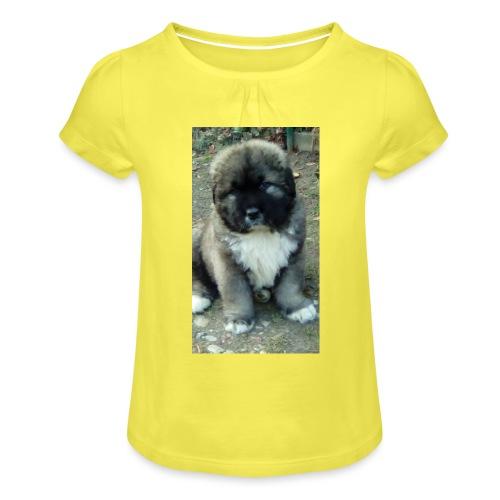 Kolekcja Kazan - Koszulka dziewczęca z marszczeniami