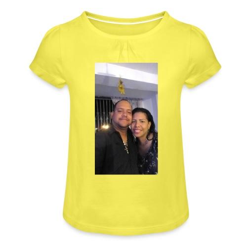 15844878 10211179303575556 4631377177266718710 o - Camiseta para niña con drapeado