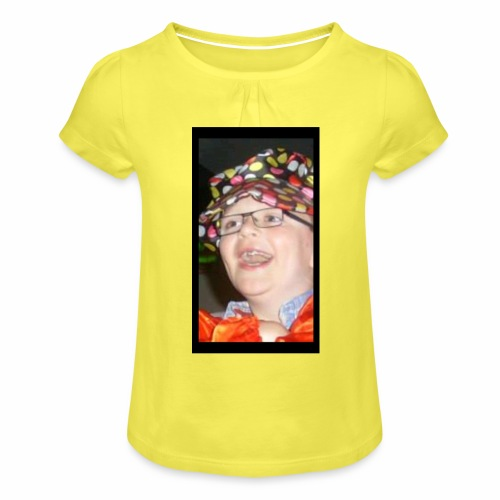 sean the sloth - Girl's T-Shirt with Ruffles