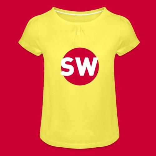 SchipholWatch - Meisjes-T-shirt met plooien