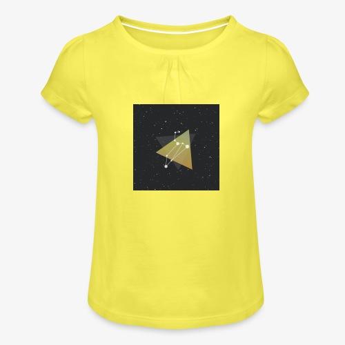4541675080397111067 - Girl's T-Shirt with Ruffles