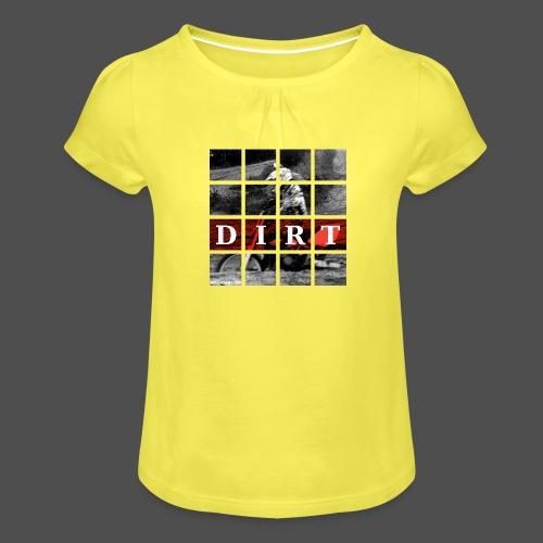 Dirt RD 19 - Koszulka dziewczęca z marszczeniami