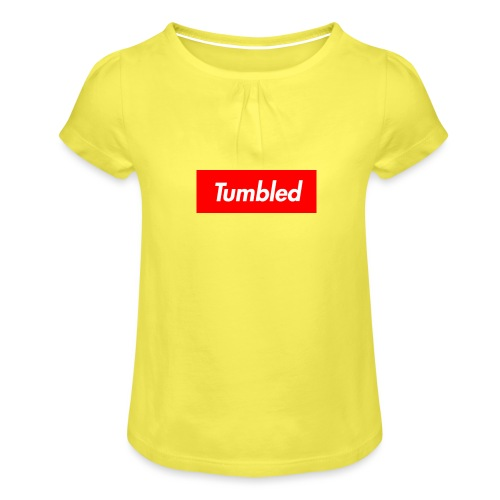 Tumbled Official - Girl's T-Shirt with Ruffles
