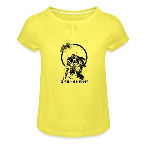 Interstellar Bounty Hunter - Tyttöjen t-paita, jossa rypytyksiä