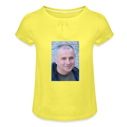 tibor csikos - T-shirt med rynkning flicka
