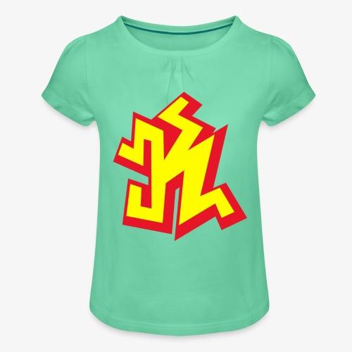 k png - T-shirt à fronces au col Fille