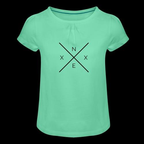 NEXX cross - Meisjes-T-shirt met plooien