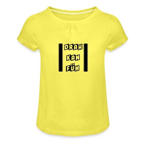 Vorschau: Drah kan Füm - Mädchen-T-Shirt mit Raffungen