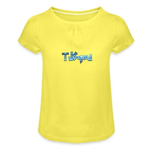 TJ SQUAD MERCH!!! - Girl's T-Shirt with Ruffles