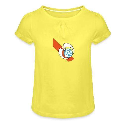 RC Strasbourg RETRO - T-shirt à fronces au col Fille