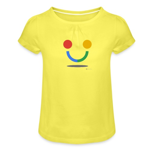 SULO - Girl's T-Shirt with Ruffles