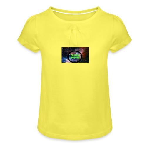 BOLGERSHOP - Girl's T-Shirt with Ruffles