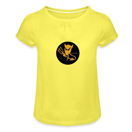 ElectroDevil T Shirt - Girl's T-Shirt with Ruffles