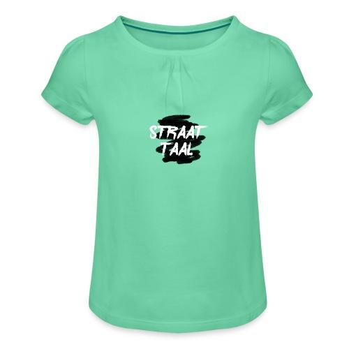 Kleding - Meisjes-T-shirt met plooien