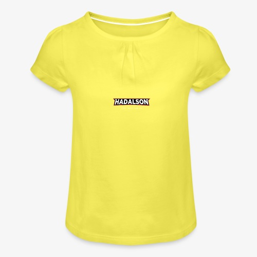 The True Fan Of Hadalson - Girl's T-Shirt with Ruffles