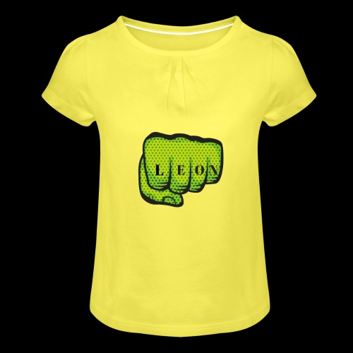 Leon Fist Merchandise - Girl's T-Shirt with Ruffles