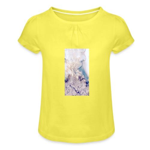 cbbe77bace48f38f4b76a3517b0a33aa - Maglietta da ragazza con arricciatura