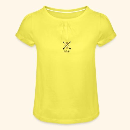 NONO SINCE 2017 - Pige T-shirt med flæser