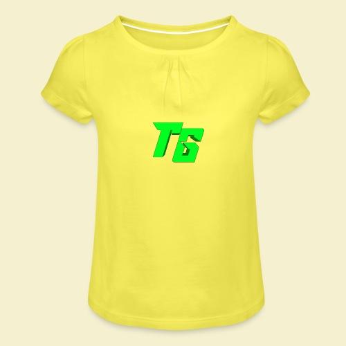 TristanGames logo merchandise - Meisjes-T-shirt met plooien