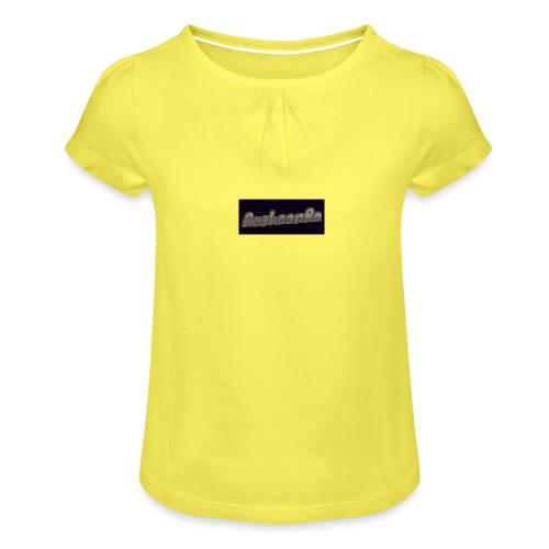 RoshaanRa Tshirt - Girl's T-Shirt with Ruffles
