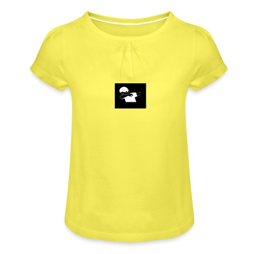 The Dab amy - Girl's T-Shirt with Ruffles