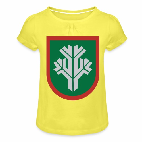 sissi - Tyttöjen t-paita, jossa rypytyksiä