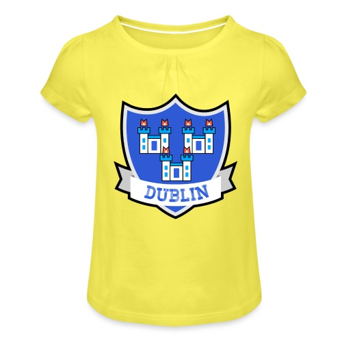 Dublin - Eire Apparel - Girl's T-Shirt with Ruffles