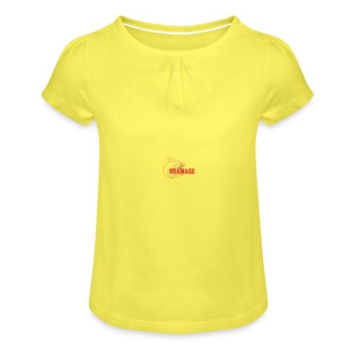 Rdamage - T-shirt à fronces au col Fille