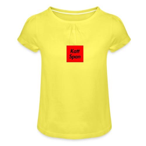 Katt Span - Girl's T-Shirt with Ruffles