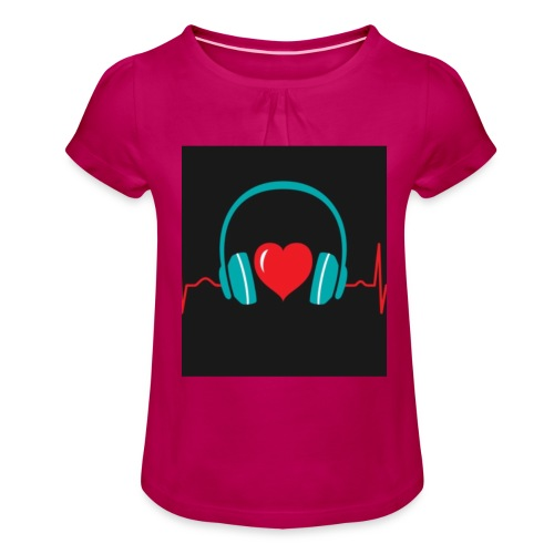 Victoria Sowinska - Girl's T-Shirt with Ruffles