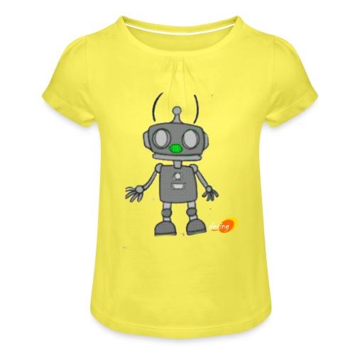 Robotino de desing impact - Camiseta para niña con drapeado