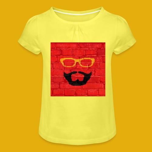 TMWAB Logo - Girl's T-Shirt with Ruffles