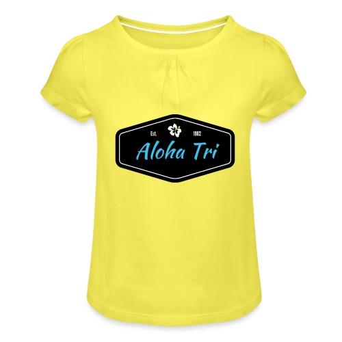 Aloha Tri Ltd. - Girl's T-Shirt with Ruffles