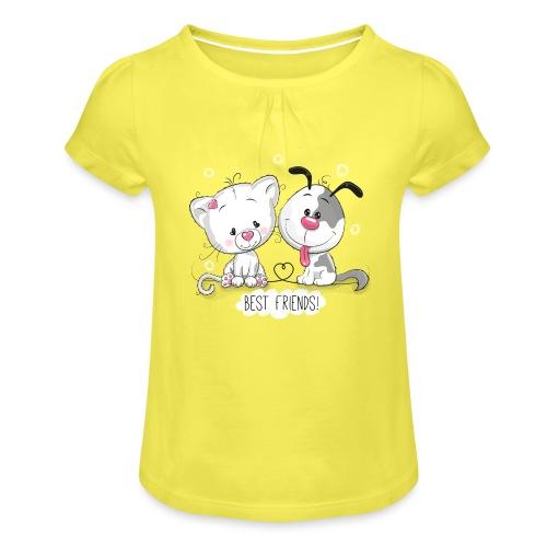 Fulfillment - Girl's T-Shirt with Ruffles