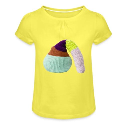 by Stine Leth - Pige T-shirt med flæser