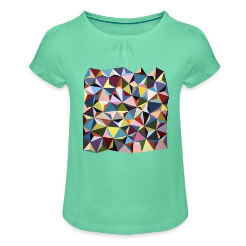 by Rikke Bjørn - Pige T-shirt med flæser