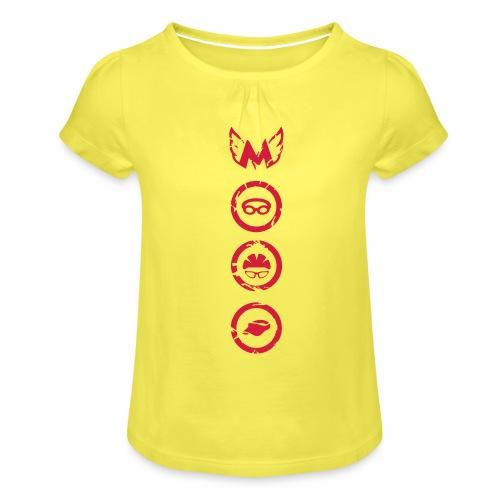 Mosso_run_swim_cycle - Maglietta da ragazza con arricciatura